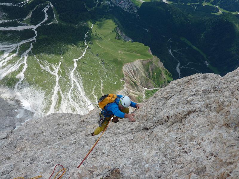 Pilastro Girasole: la roccia dei sogni, Ivo Ferrari