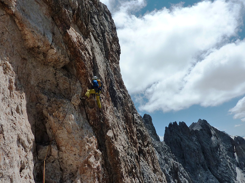 Pilastro Girasole: sulla parte alta, Ivo Ferrari