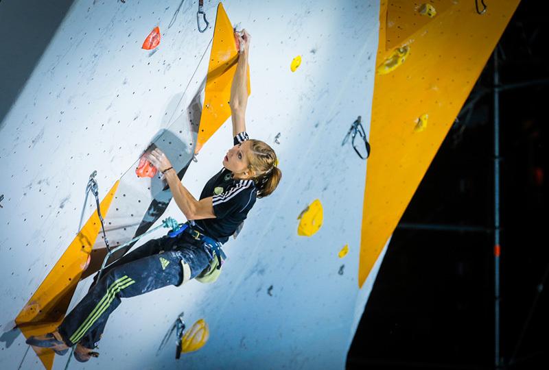 Slovenia's Mina Markovic competing at Chamonix, Stanko Gruden