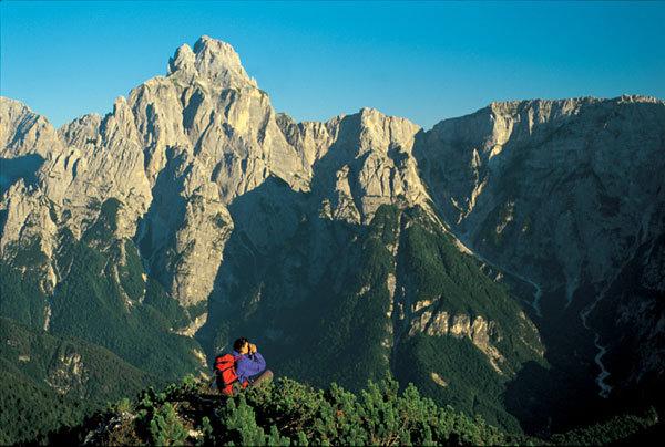 Jof e Montasio versante Nord Ovest, Mario Verin