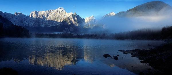 Mangart dal lago di Fusine, Marco Milani