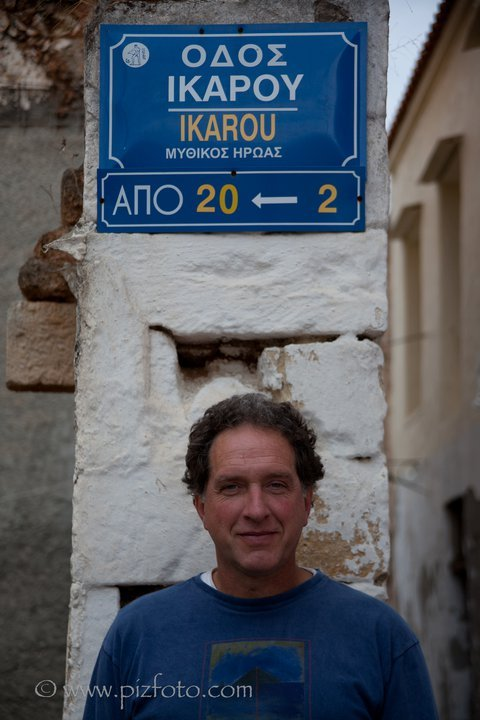 Corrado De Monte, known to all as Icaro., Karin Pizzinini