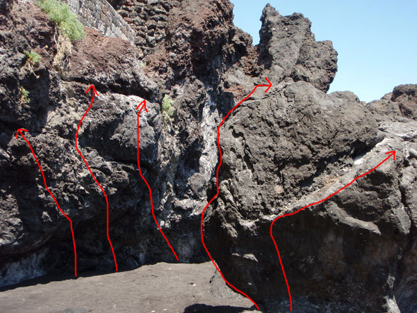 Grotta di Eolo (Casa del Sole), Stromboli, Cain Olsen