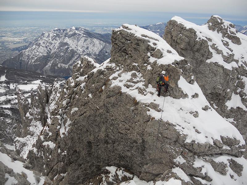 Sulla cresta, Stefano Valsecchi & Giorgio Travaglia