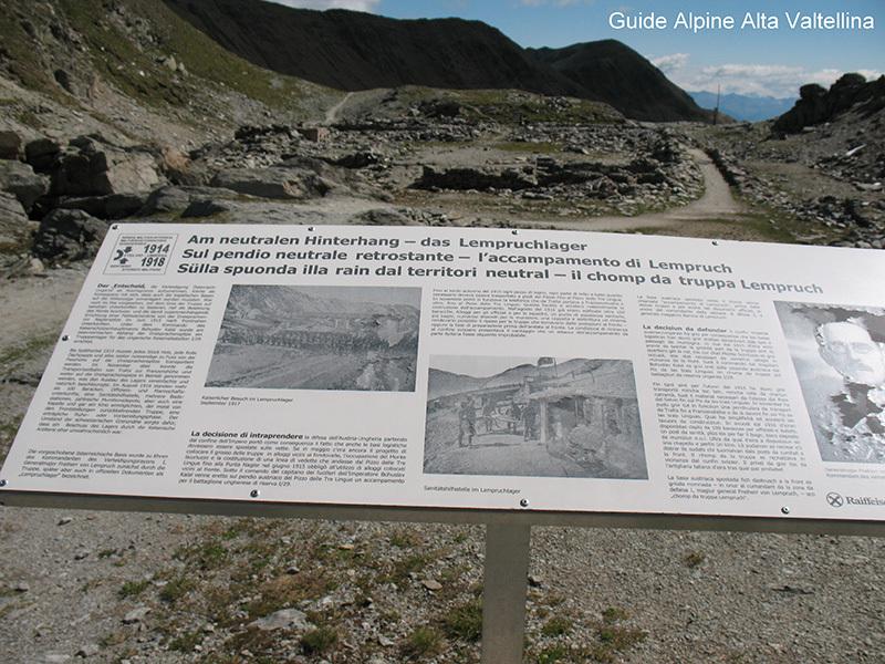 Pannelli esplicativi sul percorso, Eraldo Meraldi