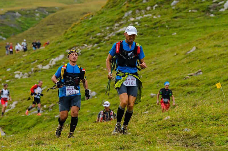 Atleti in discesa verso la Thuile, Marco Spataro