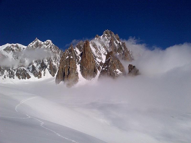 Visione... Monte Bianco, archivio Enrico Paganin
