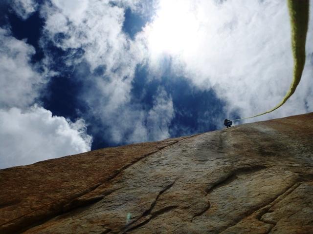 Bushido (VII– A4 VII+, Marek Raganowicz, Marcin Tomaszewski 07-08/2013), Great Trango Tower, Karakorum, Pakistan. , archivio Raganowicz & Tomaszewski