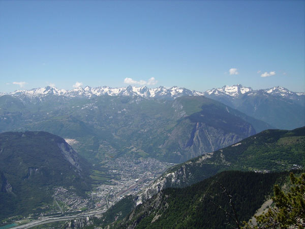 Panorama dalla Croix De Tetes, arch. E. Bonfanti
