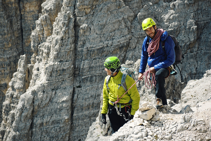 Mountain Guides training course in the Dolomites, Enrico Turnaturi