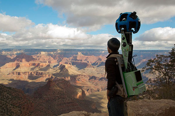 Google Trekker at the Grand Canyon, USA, Google
