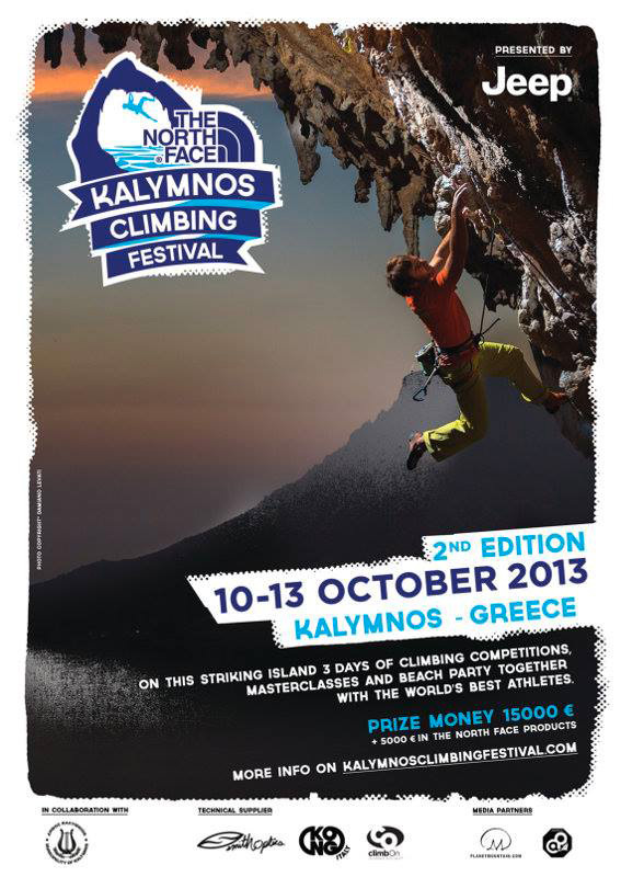 The North Face Kalymnos Climbing Festival 2013 dal 10 - 13 ottobre 2013., The North Face