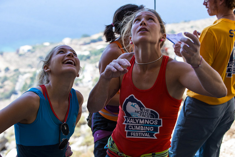 Sasha DiGiulian & Caroline Ciavaldini, The North Face ® / Damiano Levati