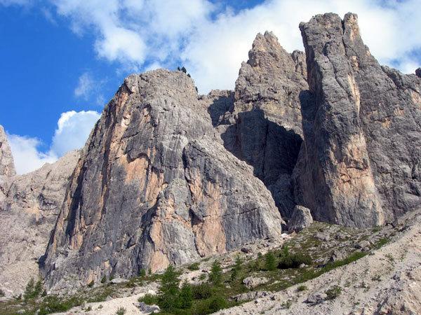 Torre orientale delle Mesules - Dolomiti, arch. E. Svab