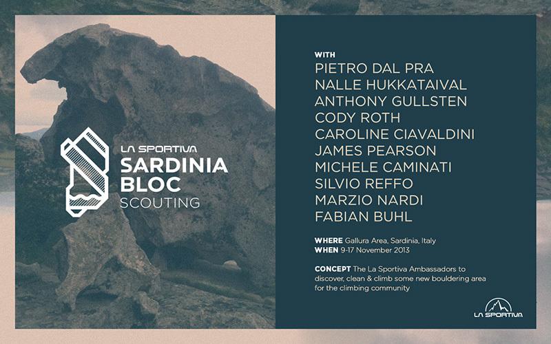 Dal 9 al 17 novembre gli atleti La Sportiva andranno alla scoperta dei blocchi inesplorati della terra sarda, archivio La Sportiva