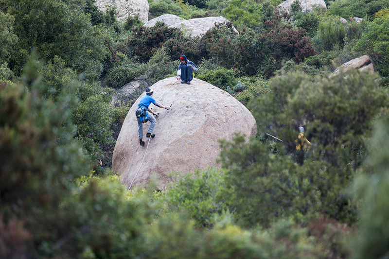 Discovering the boulders in the Galura region of Sardinia during Sardinia Bloc 2013 Klaus Dell'Orto
