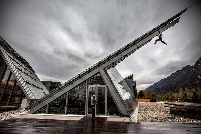 Maurizio Manolo Zanolla al MUSE, il Museo della Scienza di Trento, Matteo Mocellin