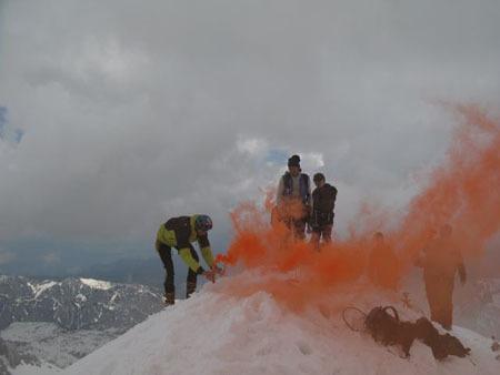 11/05/2008 - Triglav (2864m) Julian Alps, Slovenia, arch. R. Benet, L. Vuerich & friends