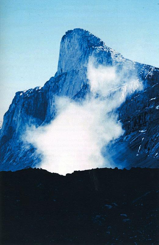 Grande frana sul Monte Thor, archivio Maria Pia Ambrosetti Molinari