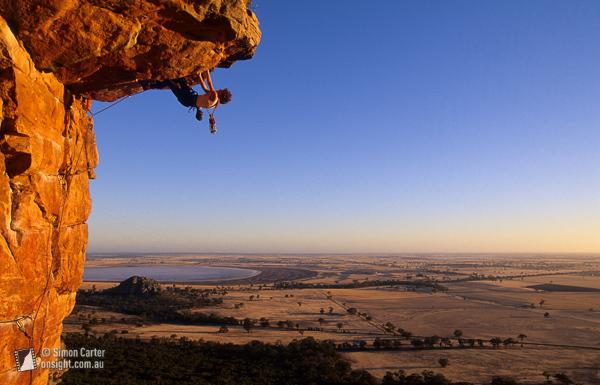 Rock Climbing at Mitre Rock Mount Arapiles Natimuk