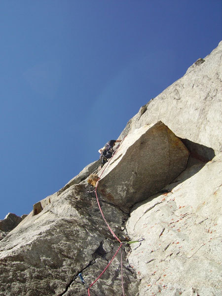 E. Bonino on the third pitch, arch. E. Bonfanti