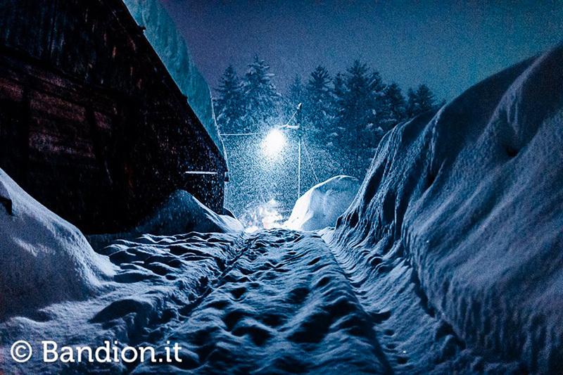 Prima della grande nevicata a Cortina d'Ampezzo, inverno 2014, Diego Gaspari Bandion / www.bandion.it