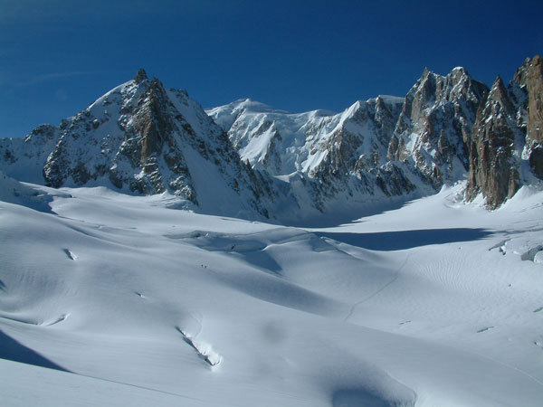 il bacino del Monte Bianco, Vinicio Stefanello