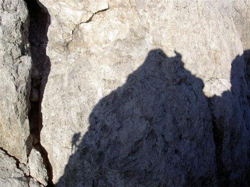 Cima D'Angheraz, parete NO, via Massarotto – Zonta (Pale San Martino, Dolomiti), arch. Ivo Ferrari