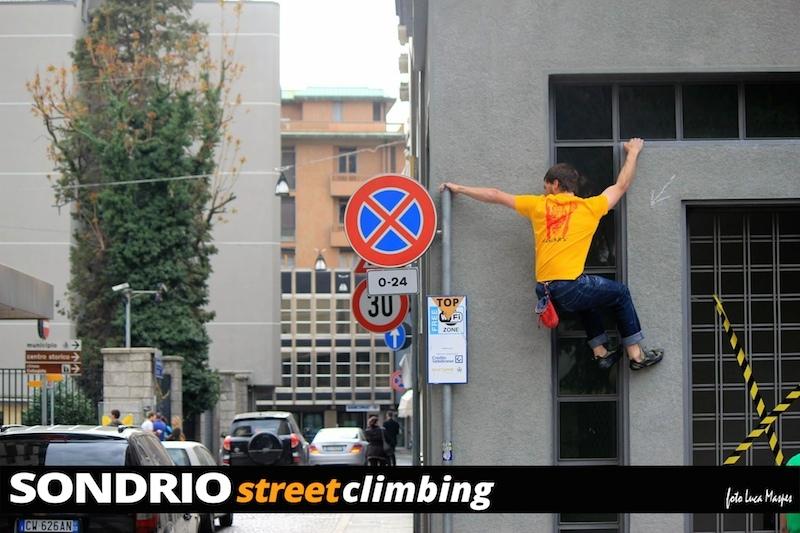 Sondrio Street Climbing V, Luca Maspes