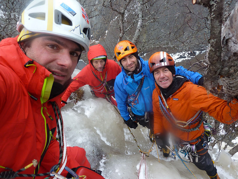 Romagna Ice Team Norway Expedition 2014, Mabodalen Eidfjord, archivio Romagna Ice Team Norway Expedition 2014