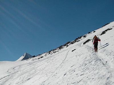 Ultima rampa prima della Cima Madriccio., Francesco Piardi