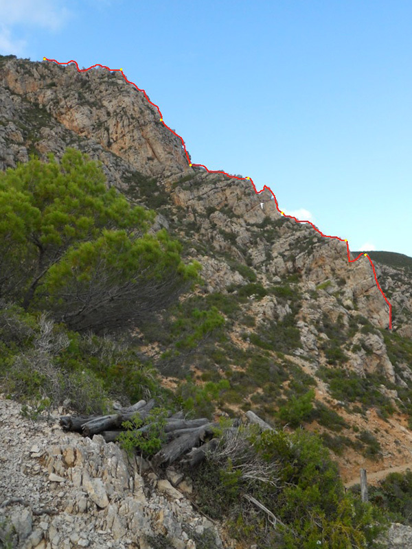 Odori Perduti (5c, 260m, Giorgio Iurato, Cristina Pannuzzo) Isola di Marettimo, Giorgio Iurato e Cristina Pannuzzo
