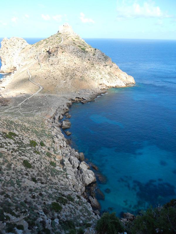 Il Castello di Punta Troia, Isola di Marettimo, arcipelago delle Egadi, Giorgio Iurato e Cristina Pannuzzo