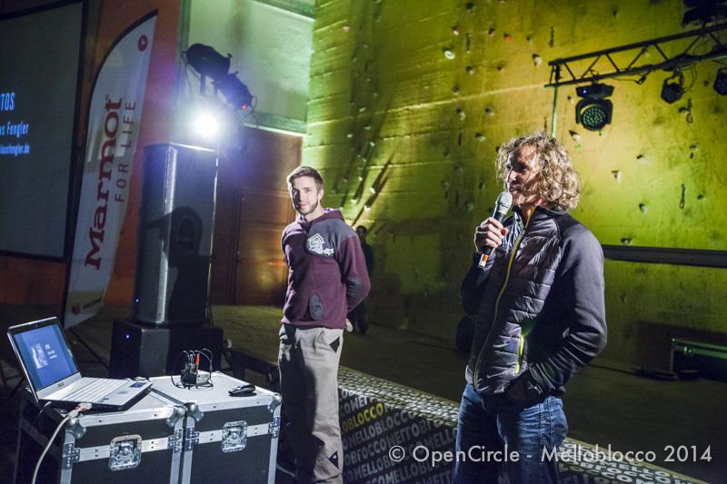 Melloblocco day 3: Stefan Glowacz, Klaus Dell'Orto / OpenCircle / Melloblocco