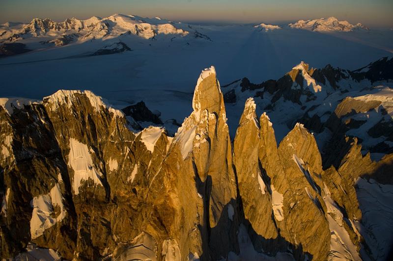 Cerro Torre in Patagonia.