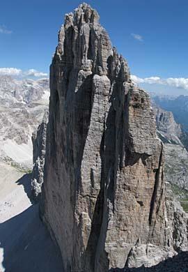 The Tre Cime di Lavaredo, Dolomites, Italy, Huber archive