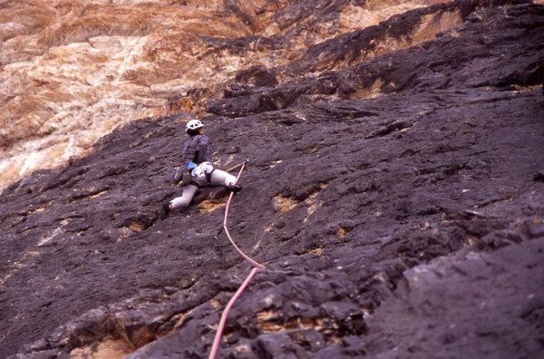 Massimo climbing Quel calcare nell'anima, arch. M. Sterni