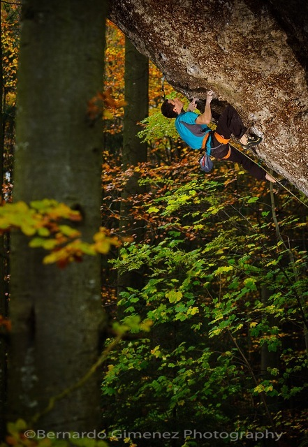 Patxi Usobiaga sale Action Direct, 9a, Frankenjura, Germania, Bernardo Gimenez
