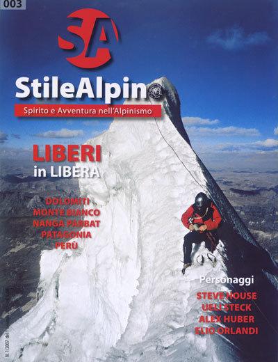 E' in edicola il nuovo numero della rivista dei Ragni di Lecco, arch. StileAlpino