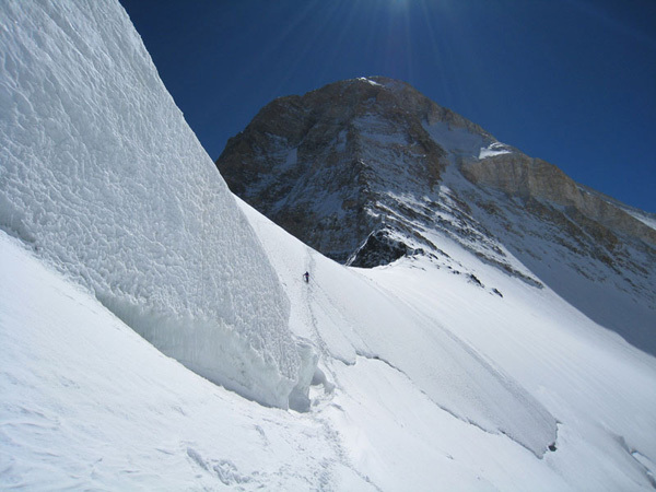 Khan Tengry (7010 m)., Andrej Magajne
