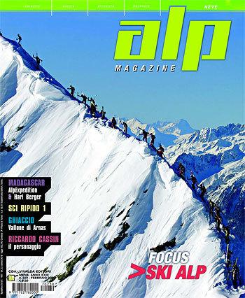 Il secondo numero del nuovo magazine mensile di alpinismo del CDA & Vivalda Editori in edicola da metà febbraio., arch: AlpMagazine