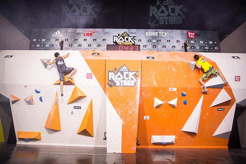 Sean McColl vs Jongwon Chon in the Superfinal of the adidas Rockstars 2014