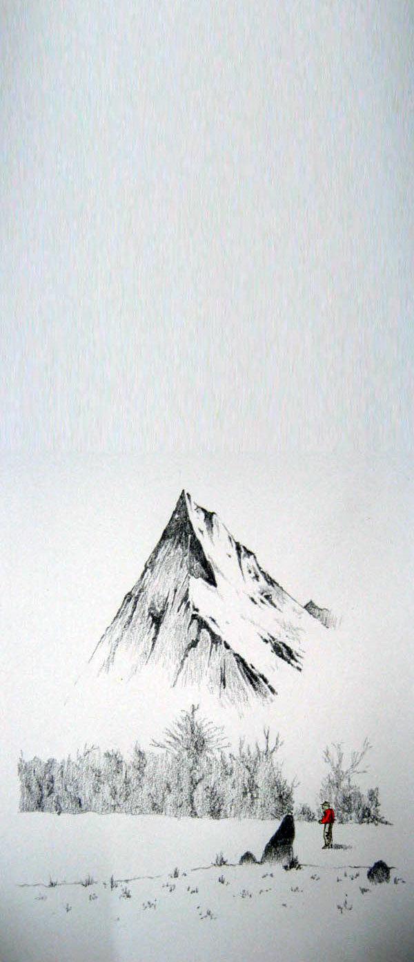L'uomo rupe e la montagna, Alessandro Barison - Magic Stone