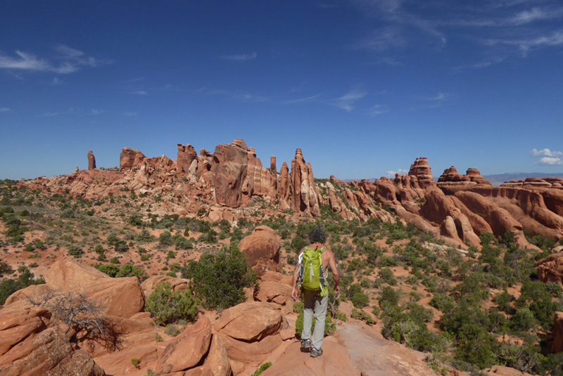& Desert Sandstone Climbing Trip #2 - Arches National Park
