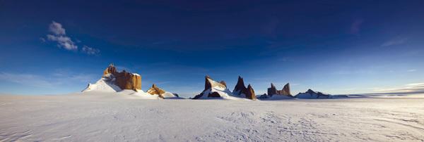 Ulvetanna, Kintanna e Holtanna, Antartide, Expedition Antarktis