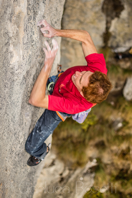 Gabriele Moroni: from competitions to Goldrake, sport climbing in his DNA