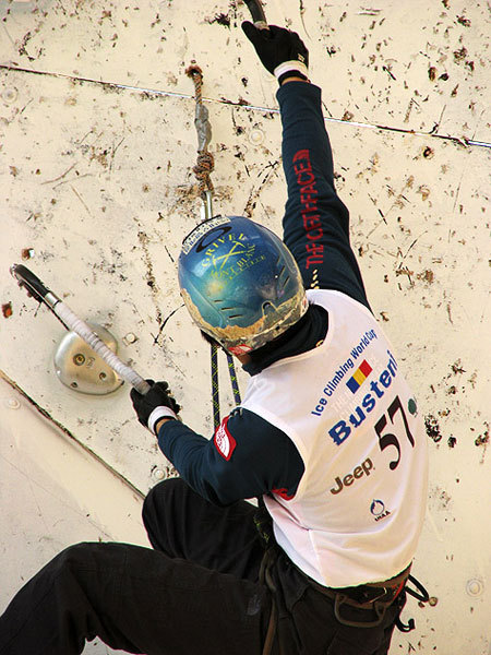 Ice World Cup Busteni 2009, Alexandru Pau