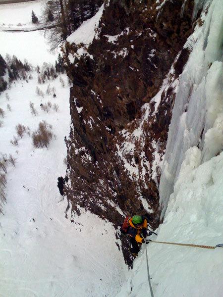 Emanuele Ciullo climbng Leben ist jetzt, Valle di Tures (Bz), arch. K.Astner