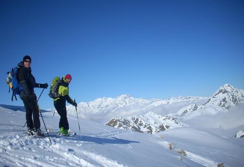 Panorama sul Monte Rosa dalle Alpi Biellesi., Filippo Livorno