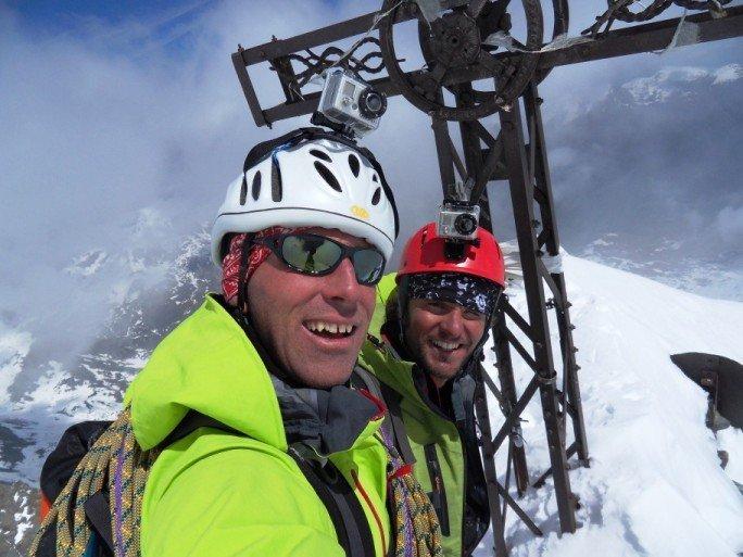 Fabio Beozzi e Federico Cecile, lo sci, le vette e la vita
